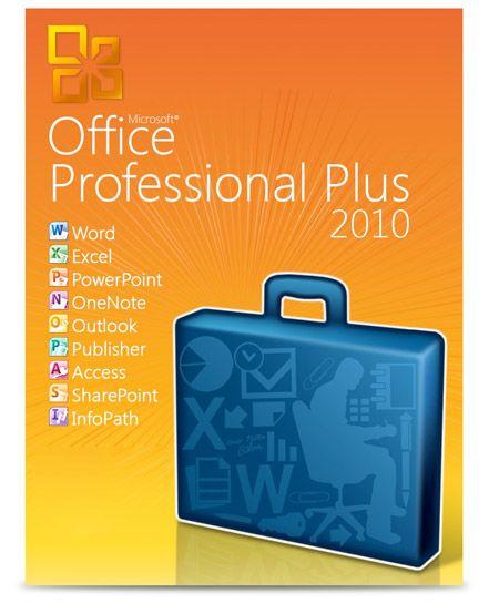 Office Professional Plus 2010 Aktivierungsschlüssel