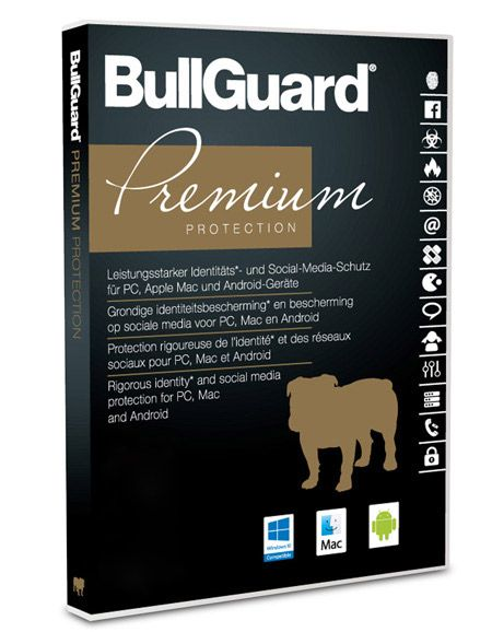 BullGuard Premium Protection 2020 - 10 Geräte / 1 Jahr