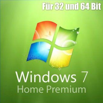Windows 7 Home Premium Aktivierungsschlüssel für 32 / 64 Bit - Download / ESD