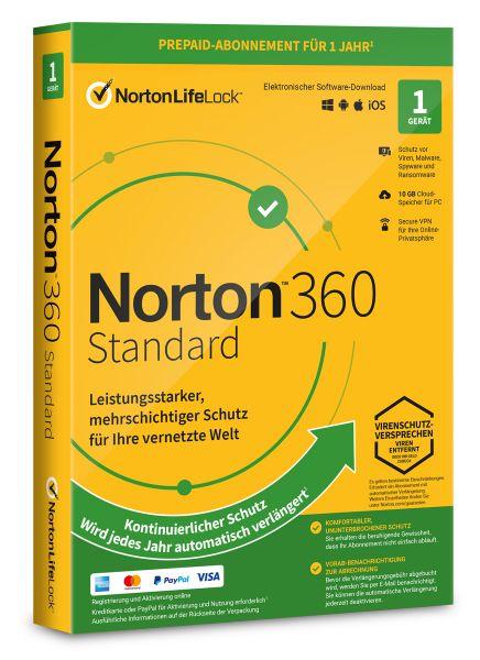 Norton 360 Standard 1 User / Gerät für 1 Jahr - ESD